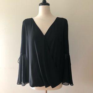 Inc black classy blouse